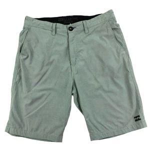 Billabong Men's Crossfire Walk Shorts Gray Size 30